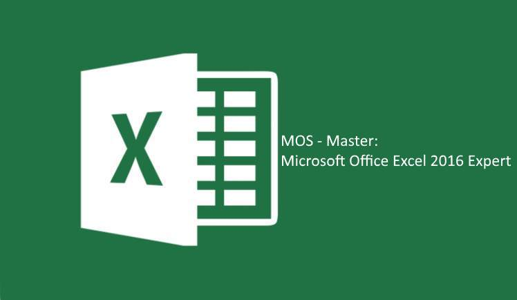 Excel 2016 mos