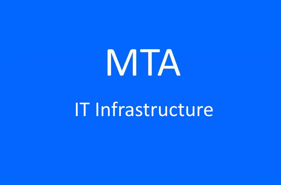 Sd Technologies Training Mta It Infrastructure